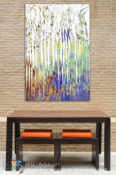 Interior Design Focal Point Art Inspiration- Christian Art-Mark 14:32. The Prayer in the Garden II. Inspirational abstract art by Mark Lawrence. Original limited edition signed canvas & paper giclees.