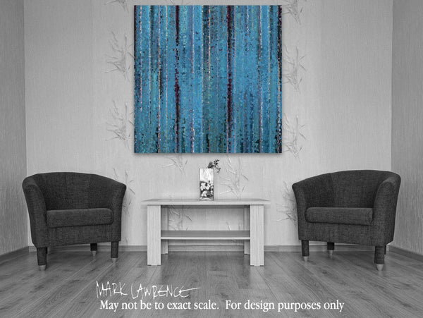 Interior Design Focal Point Art Inspiration- He Wept. Mark 14:72 | Limited Edition Christian Art