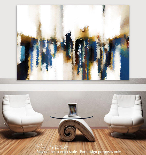 Room View- Change The Road You're On. Mark 9:34 | Modern Christian Abstract Art