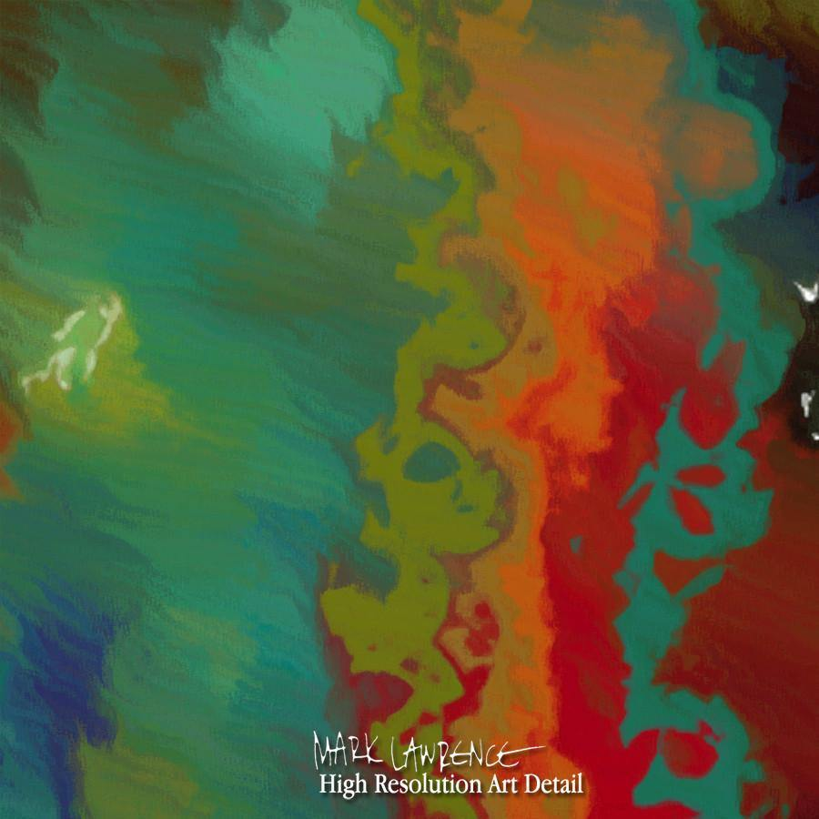 Large Painting Detail- Christian Art- Matthew 28:19. Painting with Light Art