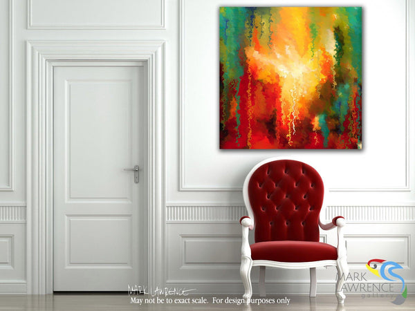 Designer View- Christian Art- Matthew 28:19. Painting with Light Art
