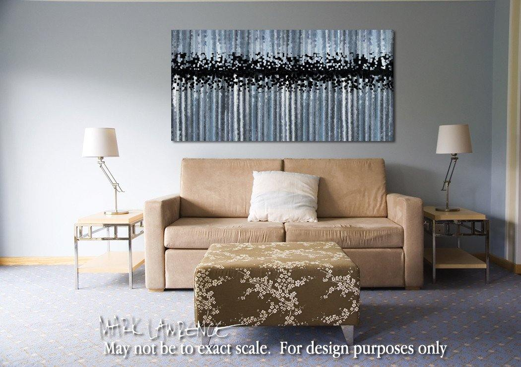 Interior Design Focal Point Art Inspiration- Christian Art-Matthew 6:27. Versevisions inspirational abstract art by Mark Lawrence. Artist Direct- Original limited edition signed canvas & paper giclees