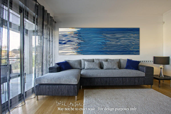 Interior Design Focal Point Art Inspiration- Christian Art-Matthew 8:26. Fine Art to encourage you by internationally collected artist Mark Lawrence. Original limited edition signed canvas and paper gicle...