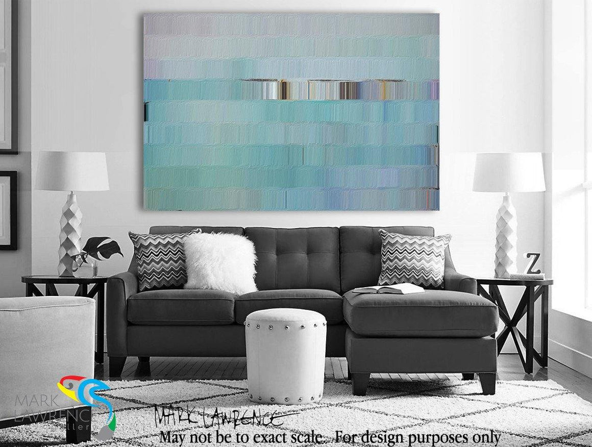 Interior Design Room Inspiration-Nehemiah 9:17 A Forgiving God. Limited Edition Christian themed art. Ultra hand embellished with brush strokes Signed/Numbered contemporary art by Mark Lawrence