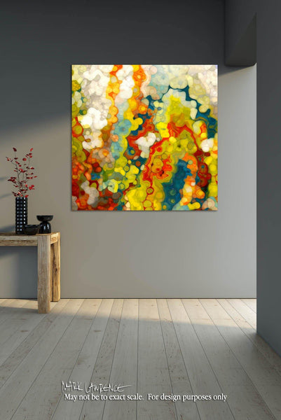 Christian Art | Philippians 1:6. God Completes What He Starts | Battlefield of the Mind Modern Art