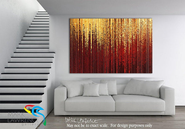 Interior Design Focal Point Art Inspiration- I Walk In Abundance 1Philippians 4:19. Signed/Numbered Limited Edition Modern Christian Art by Mark Lawrence. Ultra hand embellished brushstrokes on canvas