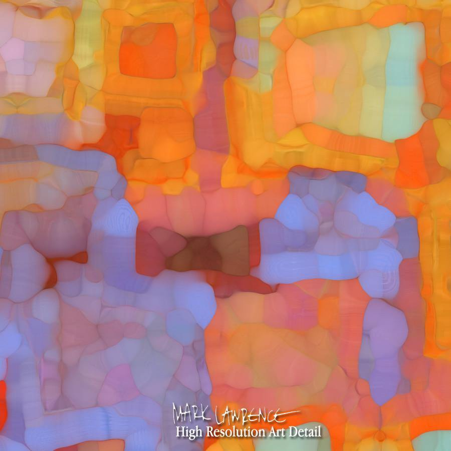 Large Painting Detail- Christian Art-Proverbs 1 7. Versevisions inspirational abstract art by Mark Lawrence. Artist Direct- Original limited edition signed canvas & paper giclees