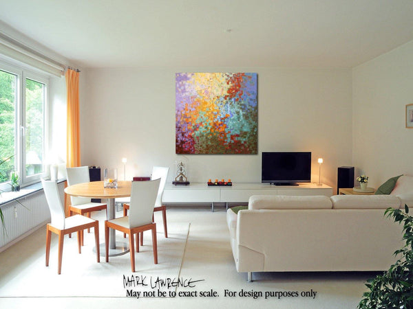 Interior Design Focal Point Art Inspiration- Christian Art-Proverbs 1 7. Versevisions inspirational abstract art by Mark Lawrence. Artist Direct- Original limited edition signed canvas & paper giclees