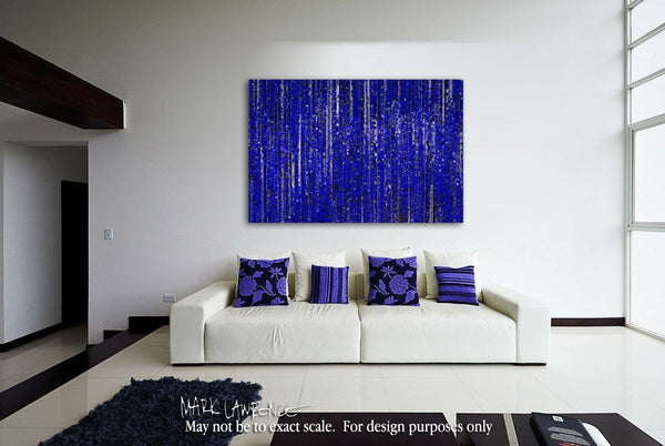 Interior Design Focal Point Art Inspiration- Christian Art-Proverbs 30:5. Versevisions inspirational abstract art by Mark Lawrence. Artist Direct- Original limited edition signed canvas & paper giclees