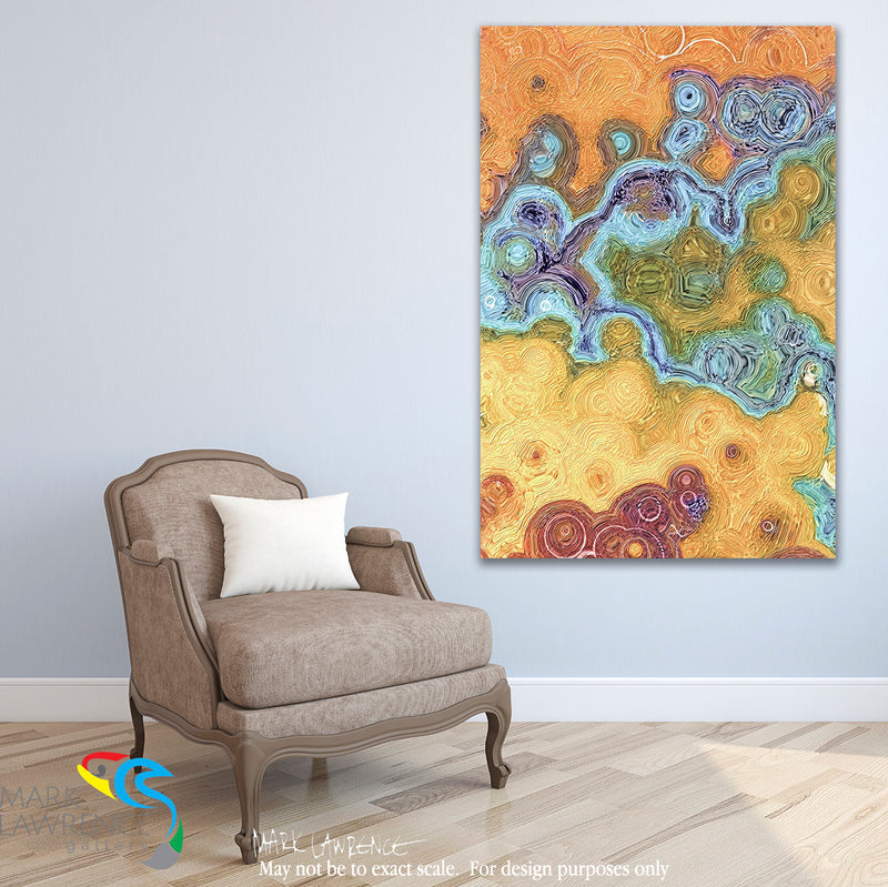 Interior Design Inspiration. Psalm 18 32-33 Keep My Way Secure. Limited Edition Christian Modern Art. Ultra-hand embellished and textured with rich brush strokes by the artist. Signed and numbered brightly colored Christian abstract art. Find Art That Speaks To You! You give me strength and guide me right. You make my feet run as fast as those of a deer, and you help me stand on the mountains. Psalm 18: 32-33