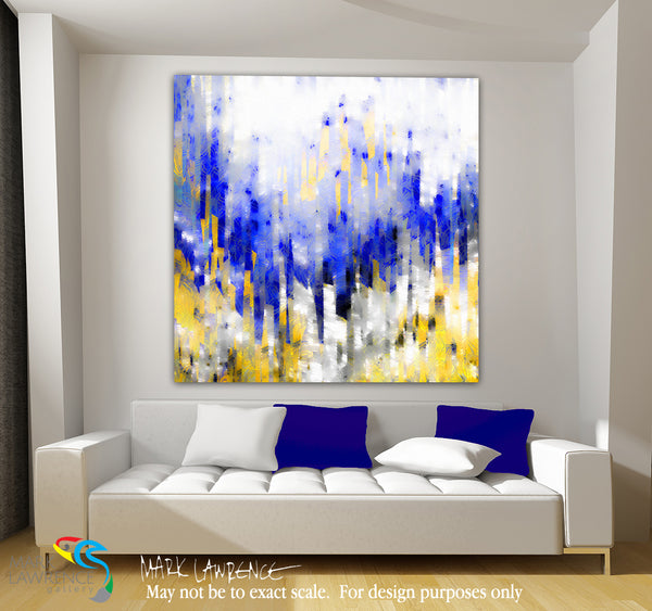 Interior Design Inspiration. Psalm 34:17. The Lord Hears. Limited Edition Christian Modern Art. Ultra-hand embellished and textured with rich brush strokes by the artist. Signed & numbered brightly colored Christian abstract art. Find Art That Speaks To You! The righteous cry out, and the Lord hears, and delivers them out of all their troubles. Psalm 34:17