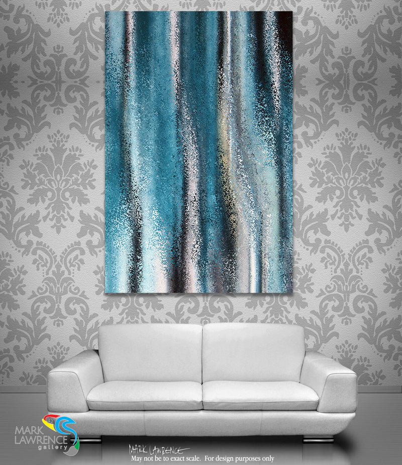 Interior Design Inspiration. Psalm 77:17 Let His Glory Resound! Limited Edition Christian Modern Art. Ultra-hand embellished and textured with rich brush strokes by the artist. Signed and numbered brightly colored Christian abstract art. The clouds poured out water. The skies resounded with thunder. Your arrows also flashed around. Psalm 77:17