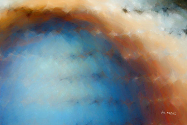Christian Art | Psalm 1:4. The Wind Drives Away | Modern Abstract Painting