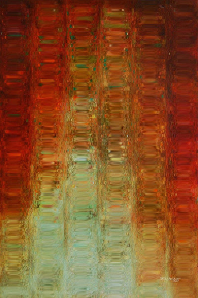 Christian Art | Joy Comes In The Morning. Psalm 30:5 | Modern Abstract Art
