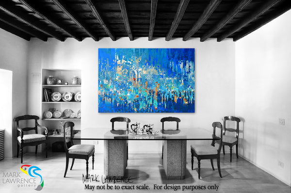 Interior Design Inspiration- Romans 12:12. Rejoicing In Hope. Limited Edition Christian Modern Art. Ultra-hand embellished and textured with rich brush strokes by the artist. Signed & numbered brightly colored Christian abstract art. Find Art That Speaks To You! Rejoicing in hope, patient in tribulation, continuing steadfastly in prayer.