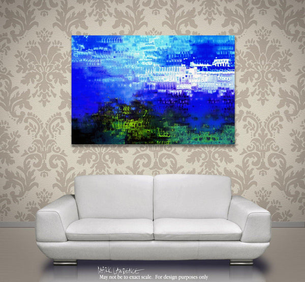 Interior Design Focal Point Art Inspiration- Romans 5:15. How Can It Be. VerseVisions Modern Christian Art. Copyright 2014 by Mark Lawrence. All Rights Reserved.