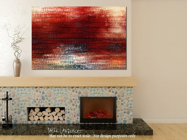 Room Inspiration- Christ Died For Us. Romans 5:8 | Limited Edition Christian Art