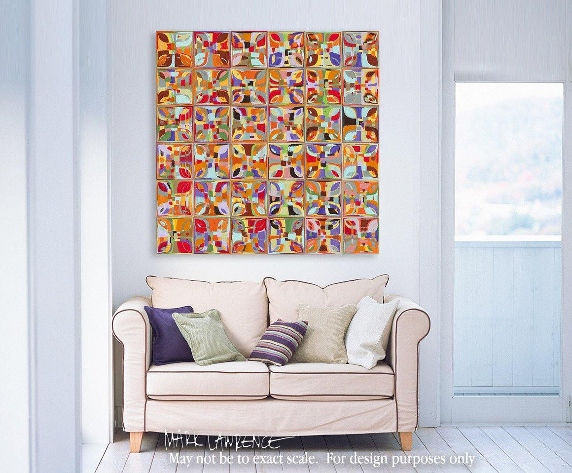 Interior Design Focal Point Art Inspiration- Summer Fun Confetti. Copyright 2014 by Mark Lawrence. All Rights Reserved.