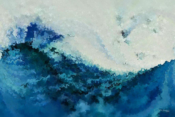 Abstract Ocean Art | Tempest Limited Edition