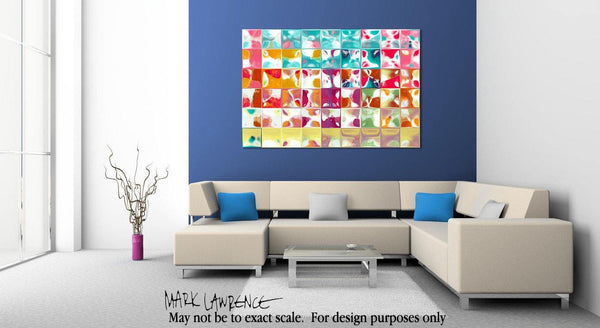 Interior Design Focal Point Art Inspiration- Tile Art #10, 2013. Copyright 2013 by Mark Lawrence. All Rights Reserved.