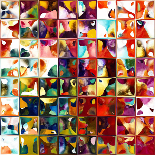 Modern Mosaic Abstract | Tile Art 11 2013 | Limited Edition