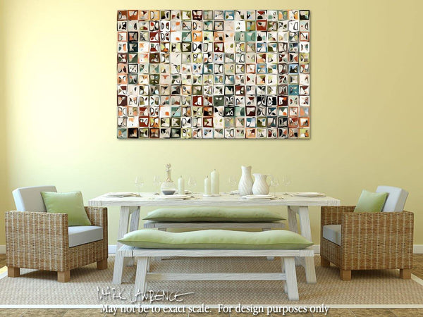 Interior Design Focal Point Art Inspiration- Tile Art #3, 2013. Copyright 2013 by Mark Lawrence. All Rights Reserved.