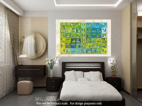 Interior Design Focal Point Art Inspiration- Tile Art #5c, 2012. Copyright 2012 by Mark Lawrence. All Rights Reserved.