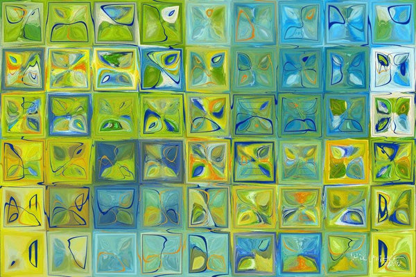 Modern Art | Tile Art #5c, 2012 | Limited Edition Fine Art