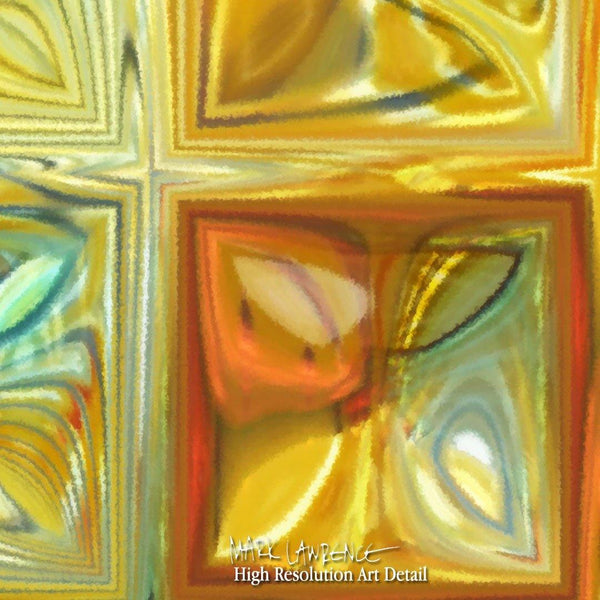 Large Painting Detail-  Tile Art #6, 2012. Copyright 2012 by Mark Lawrence. All Rights Reserved.
