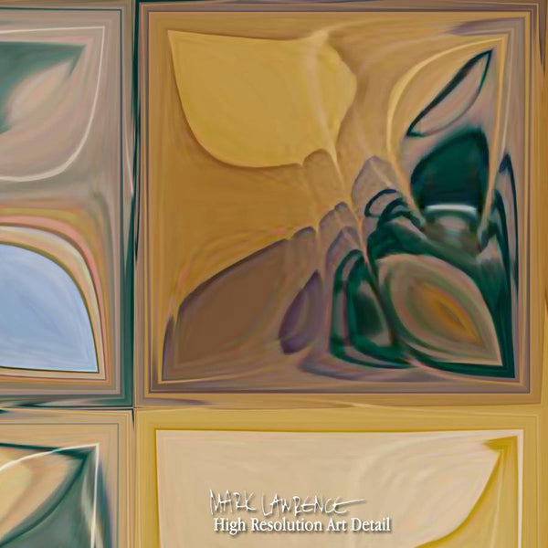 Large Painting Detail- Tile Art #7, 2012. Copyright 2012 by Mark Lawrence. All Rights Reserved.
