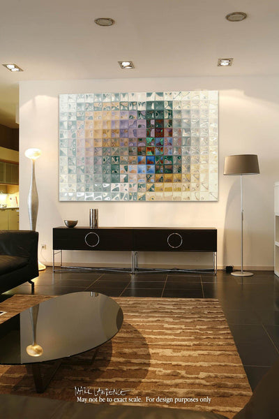 Interior Design Focal Point Art Inspiration- Tile Art #7, 2012. Copyright 2012 by Mark Lawrence. All Rights Reserved.