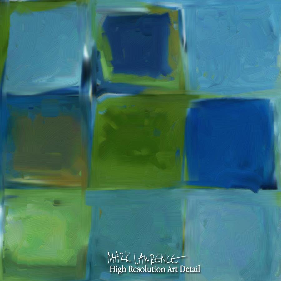 Large Painting Detail- Tile Art #7, 2013. Copyright 2013 by Mark Lawrence. All Rights Reserved.