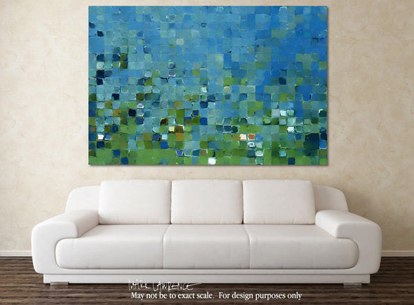 Interior Design Focal Point Art Inspiration- Tile Art #7, 2013. Copyright 2013 by Mark Lawrence. All Rights Reserved.