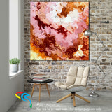 Interior Design Inspiration- Zephaniah 3:17 Jesus Is Calling. Limited Edition Christian Modern Art. Ultra-hand embellished and textured with rich brush strokes by the artist. Signed & numbered brightly colored Christian abstract art. Find Art That Speaks To You! The Lord your God in your midst, The Mighty One, will save; He will rejoice over you with gladness, He will quiet you with His love, He will rejoice over you with singing.  Zephaniah 3:17