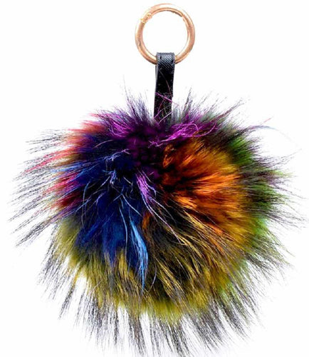 Tibet lamb fur purse