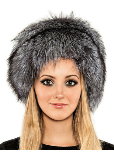Silver fox bucket hat