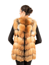 Load image into Gallery viewer, Red fox vest