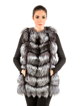 Load image into Gallery viewer, Silver fox vest