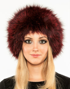 Knitted fox hat