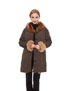 Fox reversible coat