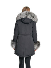 Load image into Gallery viewer, Silver fox parka