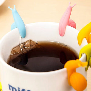 5 Pcs Snails Tea Bag Holder