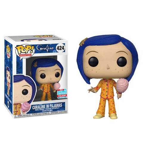 Pop! Movies: Coraline - Coraline in Pajamas NYCC Hot Topic Fall Exclusive