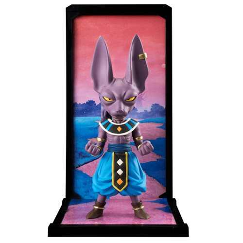 Dragon Ball Super Beerus Tamashii Buddies Mini-Statue
