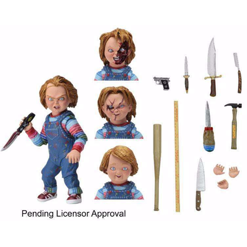 Neca Child's Play Chucky – 7″ Scale Action Figure – Ultimate Chucky