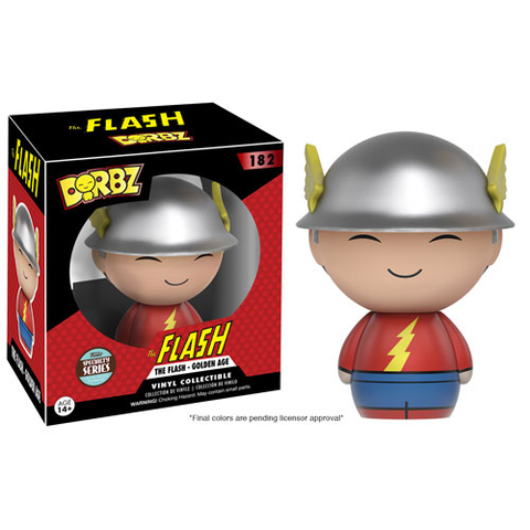 Dorbz: DC - Golden Age Flash Specialty Series Funko Vinyl Figure!