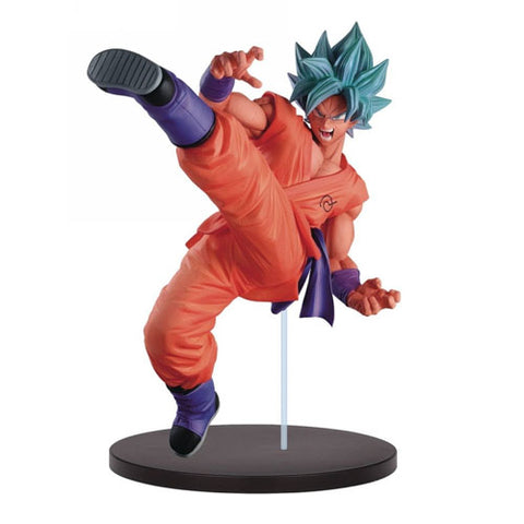 Dragon Ball Super Son Goku Fes!! Vol.5 Super Saiyan God Super Saiyan Son Goku-  7.5-Inch PVC Figure - By Banpresto