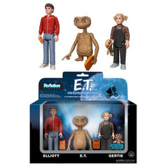 E.T. the Extra-Terrestrial ReAction Action Figure 3-Pack