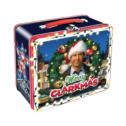 National Lampoon's Christmas Vacation Clarkmas Large Fun Box Tin Tote