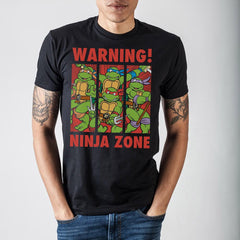 Tmenst Warning! Ninja Zone TMNT T-Shirt